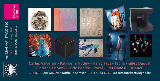 Affordable Art Fair | Light art | Art cinétique | Bruxelles - Tour & Taxis | BrieucC