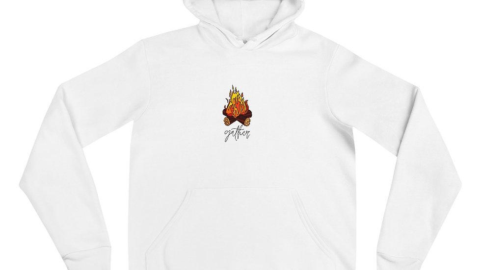Unisex hoodie Gather around a Campfire