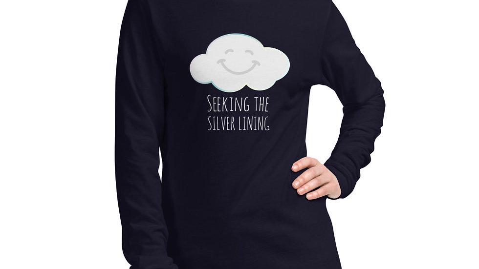Unisex Long Sleeve Tee Smiling Cloud