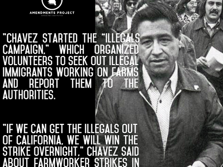Cesar Chavez Was No Friend To Illegal Immigrants
