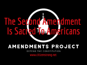 Why The Second Amendment Matters To Americans