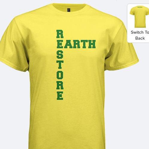 Yellow Restore Earth Tee