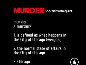 Chicago is Murder Mayhem and Misery
