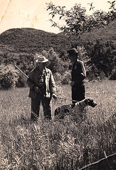 Earl Twombly, dog training, Game Warden