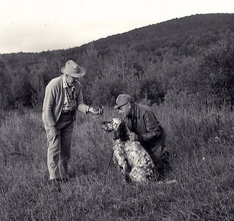 Earl Twombly, Corey Ford, Tober dog training