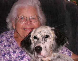 Rebecca Twombly Higgins, English Setter