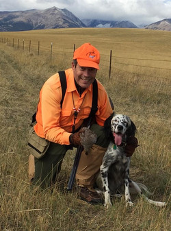 Rick & Sage in Montana
