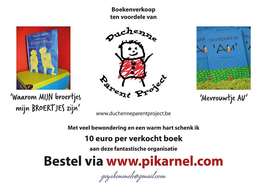 Duchenne Parent Project Boekenverkoop.jp
