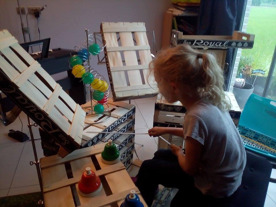 Creatieve Projecten: muziekinitiatie