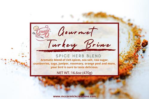 GroovinQ Gourmet Turkey Brine