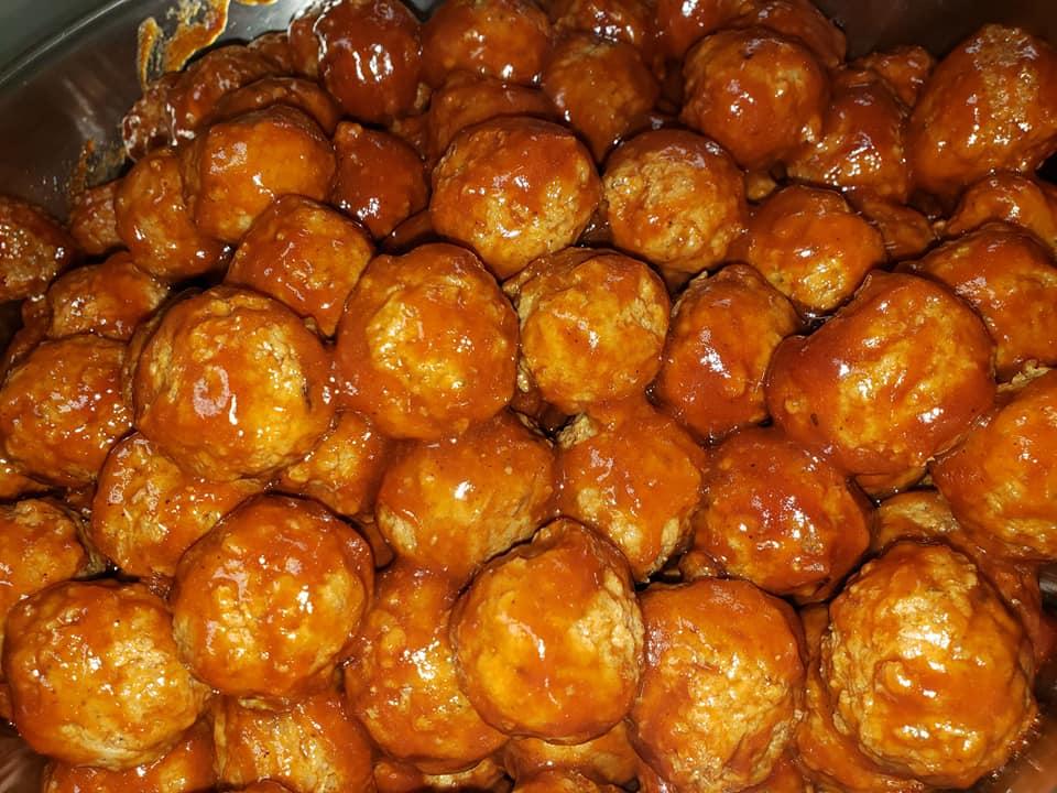Sweet & Sou Meatballs