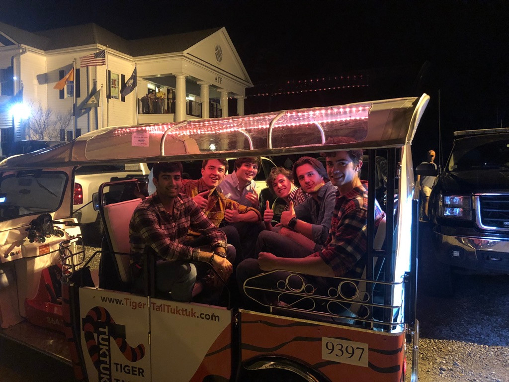 Tuk'n is a party even before you arrive!