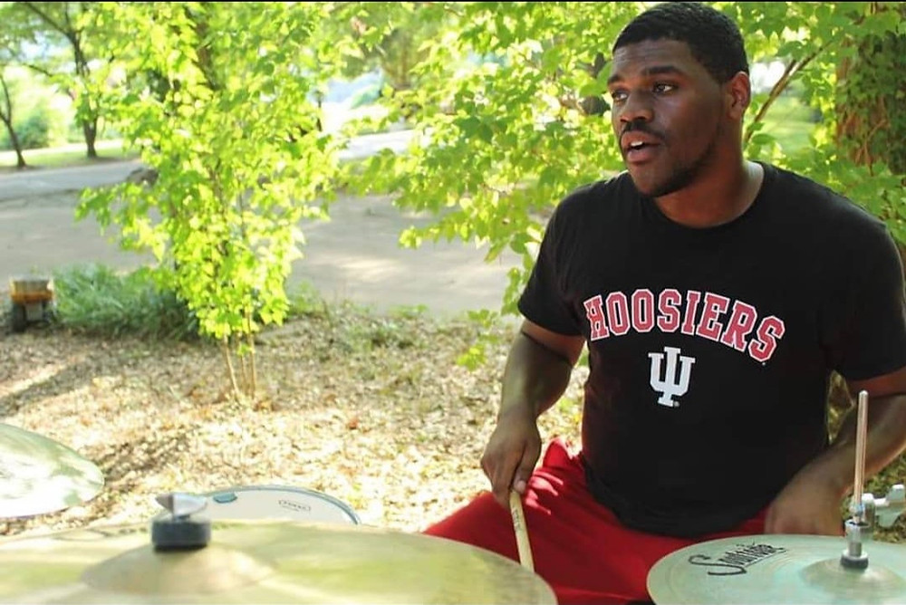 Kimeon Sumler, Drums, outside