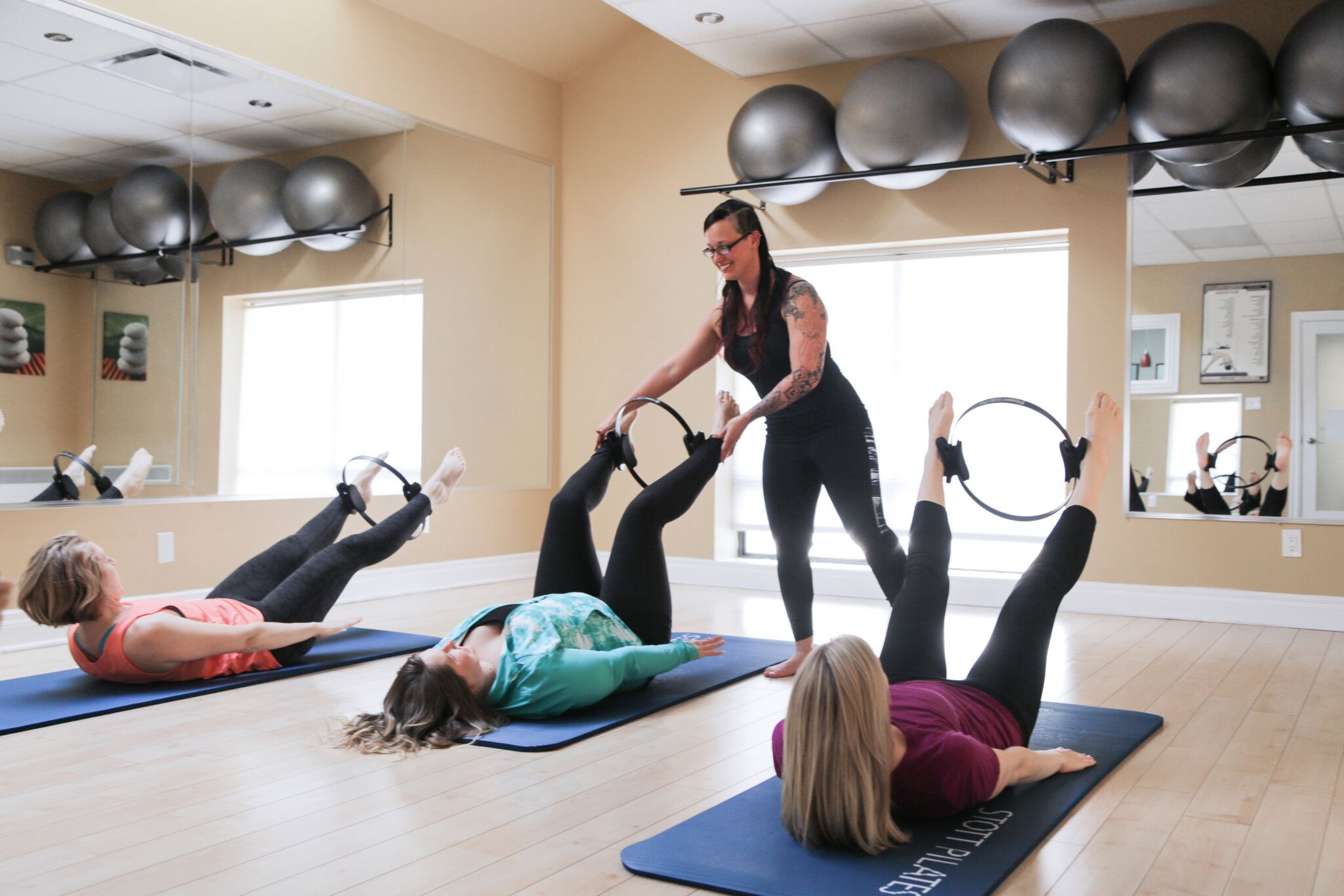 Zoom Pilates Mat Class. Singles/Packages
