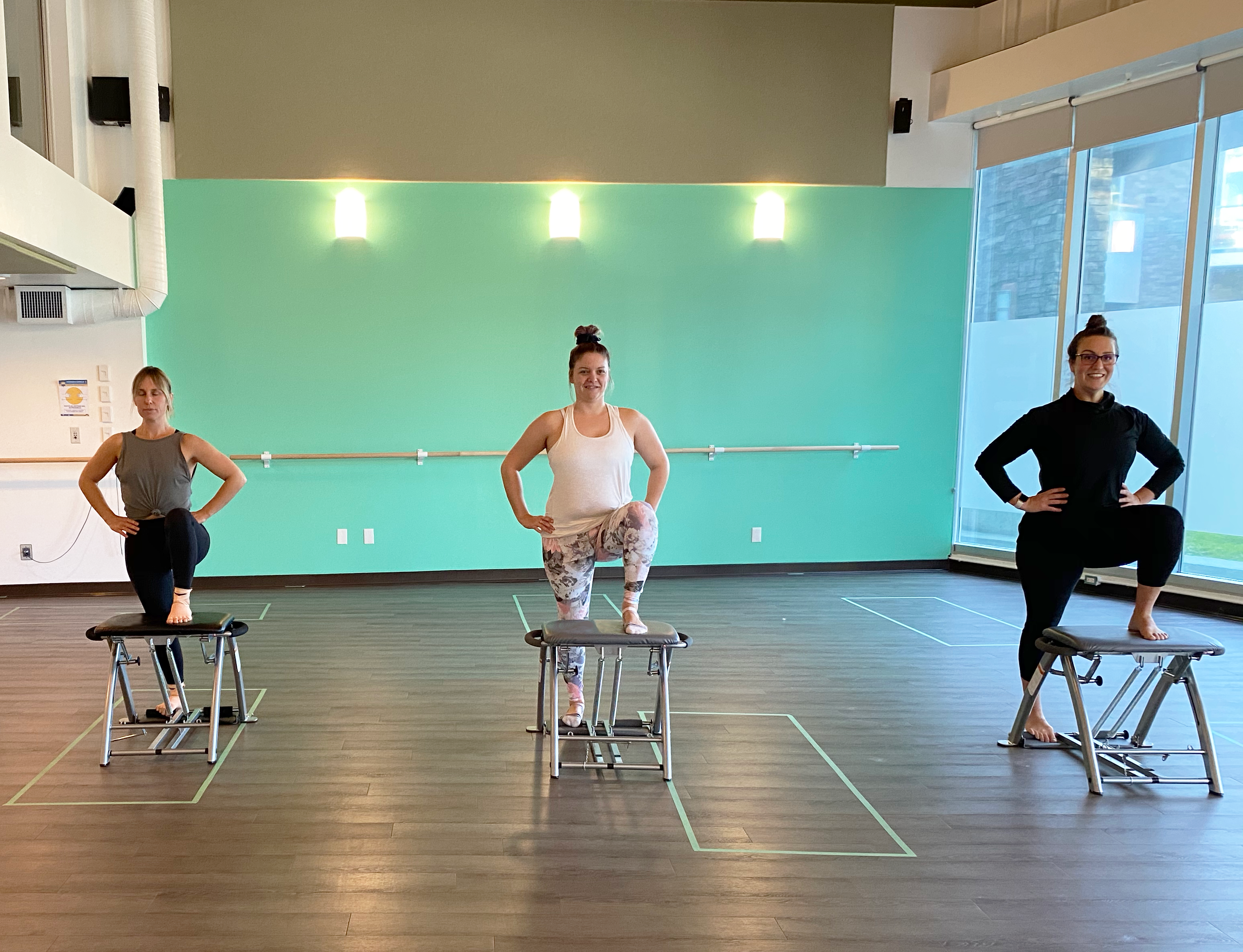 All Levels Pilates Pro Chair & Mat -FREE