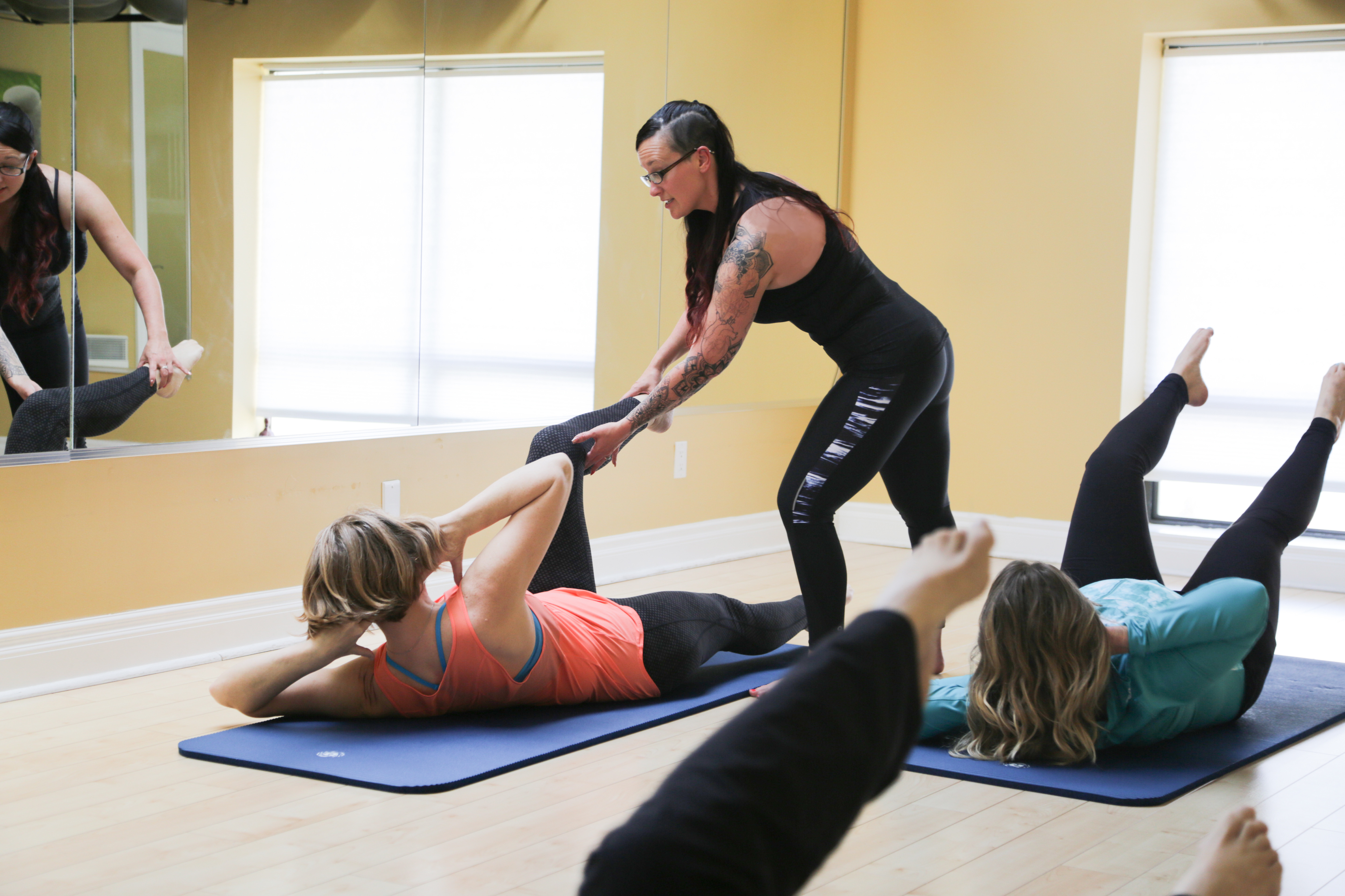 Classical Pilates Mat. Singles/Packages