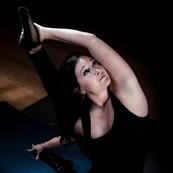 Dana Carter Yoga pose