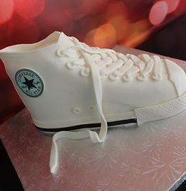 Custom Converse Shoe Cake