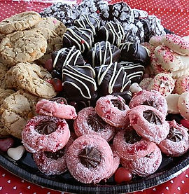 COOKIE TRAY from Sweet Temptations Dessert Co. Yorkville Illinois
