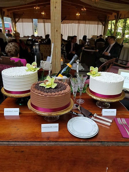 From-scratch Cakes of Chocolate and Buttercream