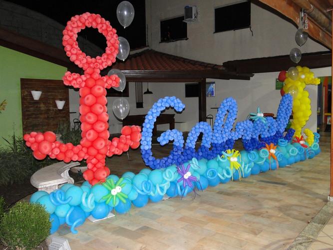 Festas Tematicas com Balões