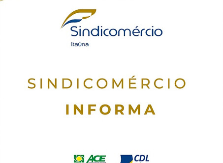 Sindicomércio, CDL e ACE Itaúna conseguem extensão do horário para o próximo sábado (08/08)