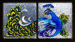 Peacock Transom