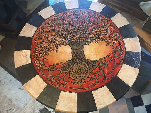 Table top Lazy Susan - Tree of Life