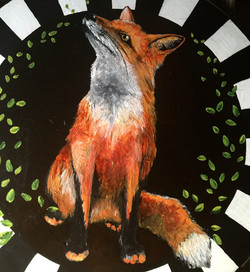 Red Fox Lazy Susan 2