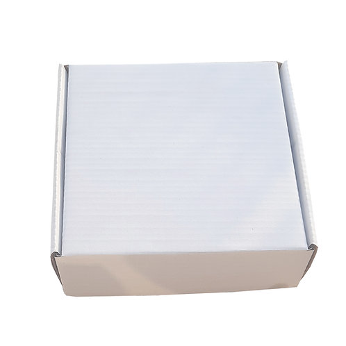 Corrugated Box 8* 7.5 * 2.25 Inch/20.32 * 19.05 *5.71 cm 3 ply