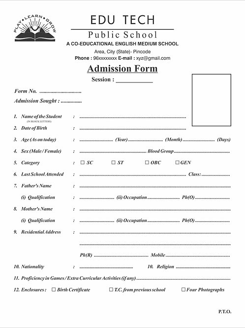 Forms (Any Format)