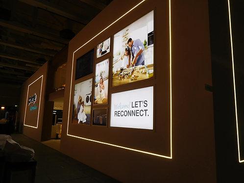 printonlinestore exhibition wall