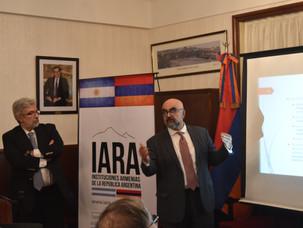Presentación del proyecto de la Fundación Gulbenkian a la comunidad armenia de Argentina