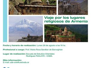 """""""Viaje por los lugares religiosos de Armenia"""""""