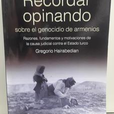 """Recordar opinando"", Gregorio Hairabedian"