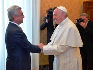 El presidente de Armenia agradeció el compromiso de la comunidad armenia de Argentina