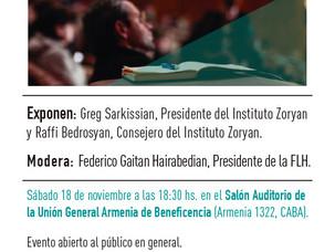"""Foro internacional """"Diálogos en Diáspora"""", sábado 18 de noviembre"""