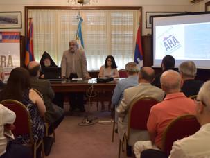 Primer plenario de IARA y acto por el 30º aniversario del movimiento de liberación de Artsaj