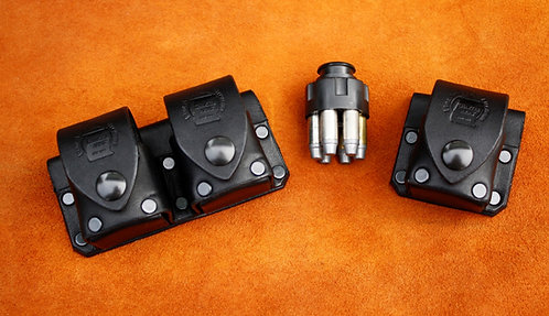 Charter Arms leather Speed loader  carriers