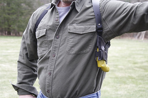 Upside down J-Frame Shoulder Holster