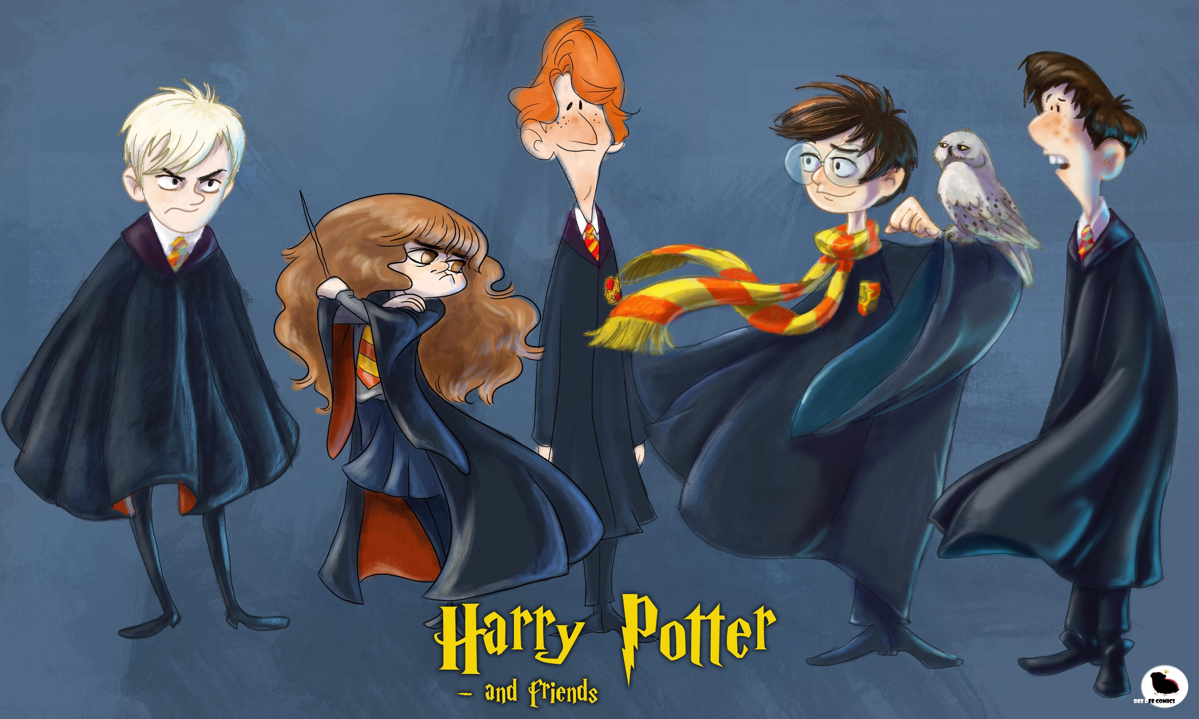 HP Crew Character Design Challenge