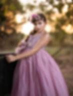 girl in stunning dress