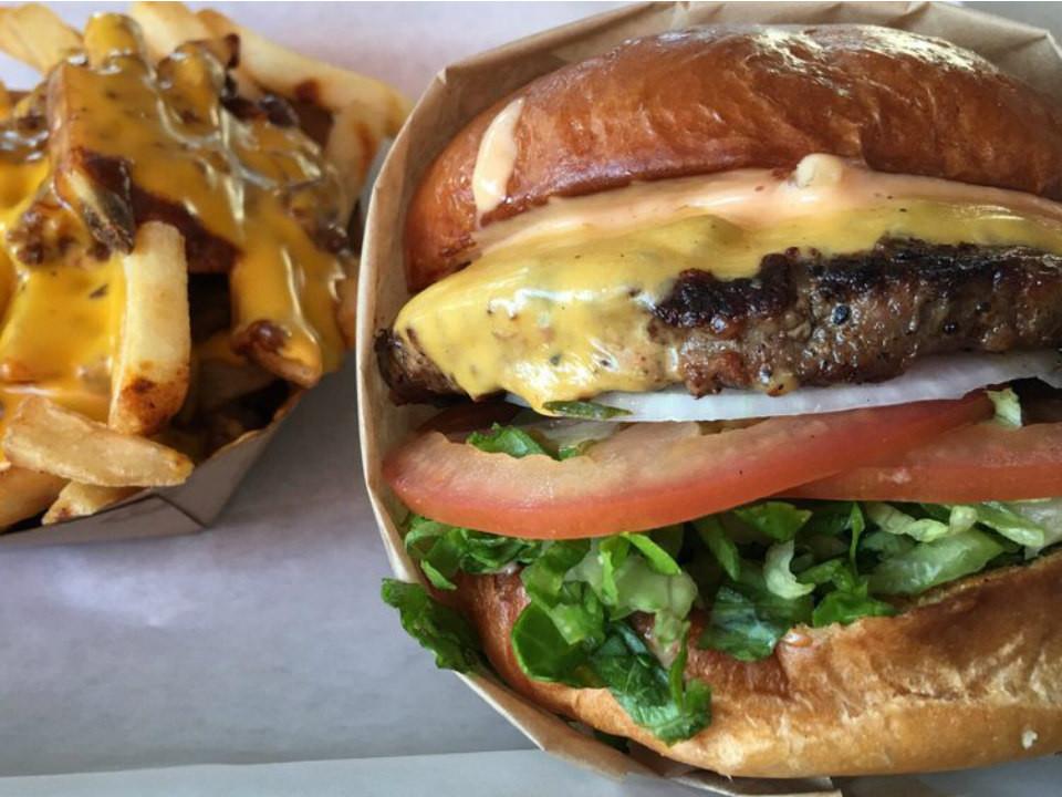 A burger from Bunz
