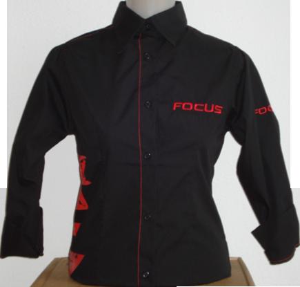 Bluse vorne schwarz Focus oh H
