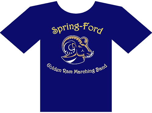 Spring-Ford Golden Rams Marching Band T-Shirt