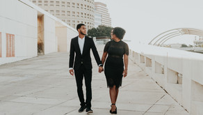 Classy Downtown Tampa Engagement Photoshoot | Tampa, Florida