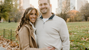 New York City Engagement Fall Photoshoot