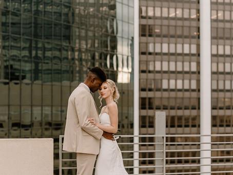 Modern Luxury Rooftop Wedding at The Balcony Orlando