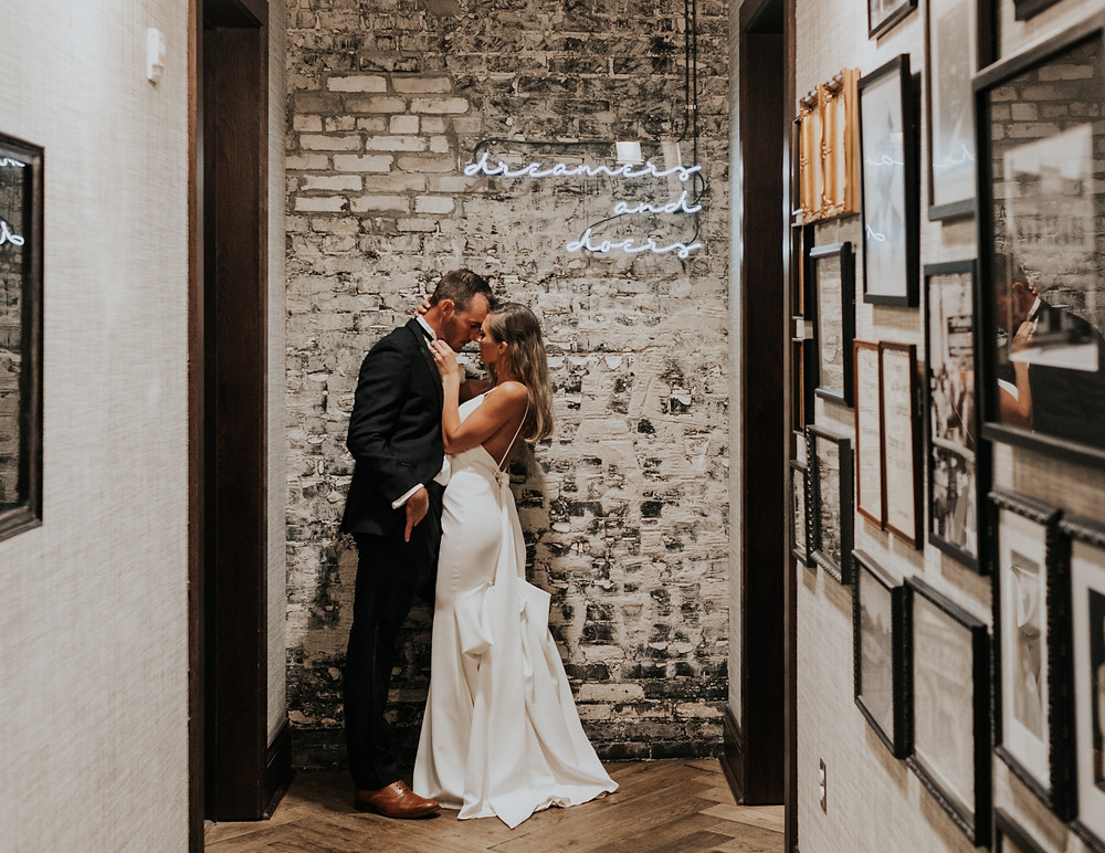 A luxury wedding at Oxford Exchange in Tampa, Florida
