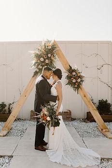 The Edison Barn Estate Wedding Triangle